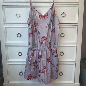 Summer Lavender Romper